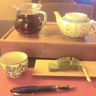 tea time and write